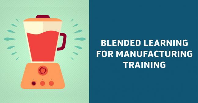 Blended Learning for Manufacturing Training Image