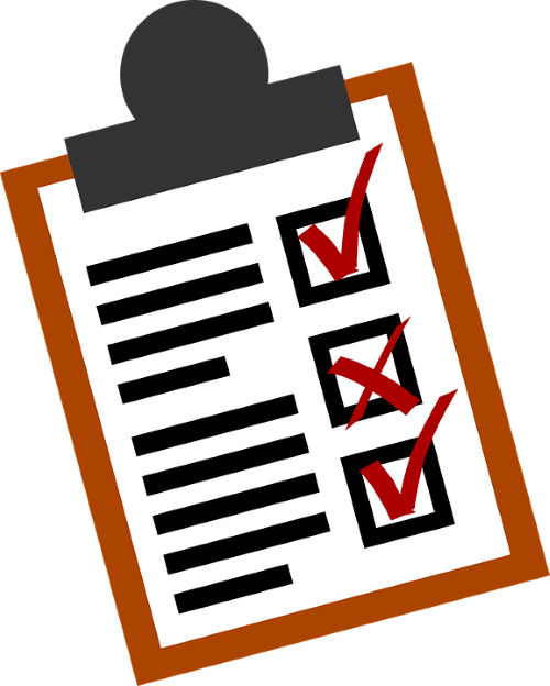 Contractor Post-Work Evaluation Checklist Image