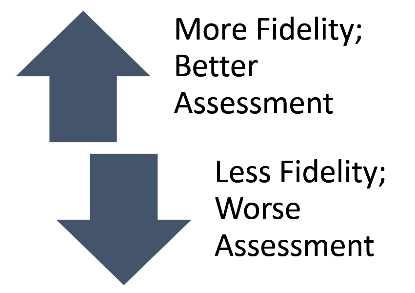 fidelity assessment