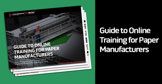 Online Paper Manufacturing Training Guide Image
