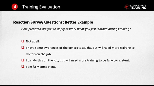 How to Write Better Smile Sheets Whats Wrong With Traditional – On the Job Training Evaluation Form