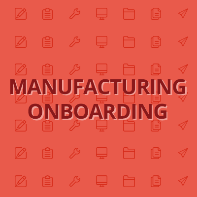 Manufacturing-onboarding