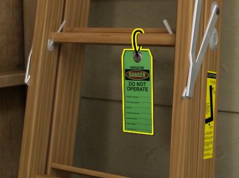 Portable Ladder Safety Checklist Image
