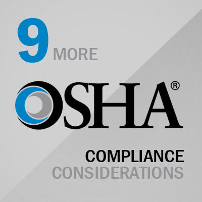 OSHA General Industry Compliance Considerations Image