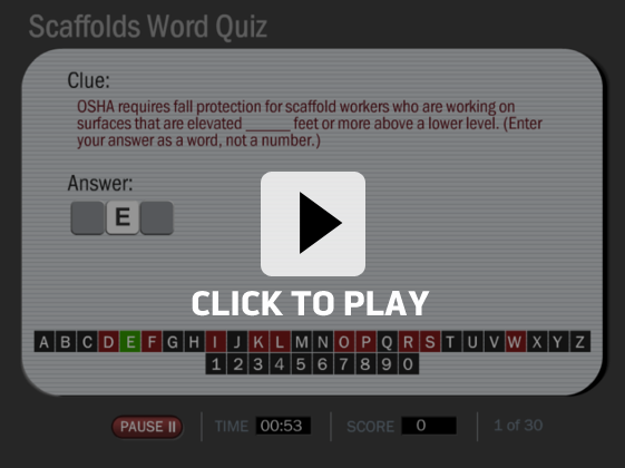 Fun Online Safety Training Word Games | Convergence Training