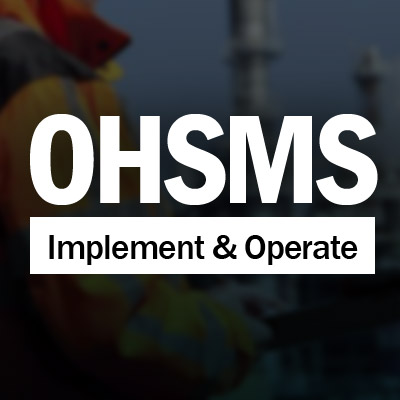 Implementing and Operating an OHSMS image