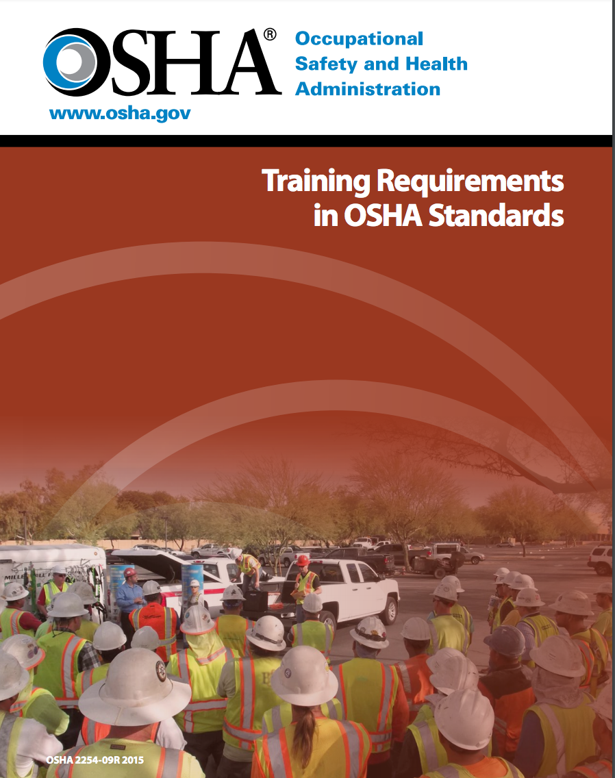 OSHA Training Requirements Document image