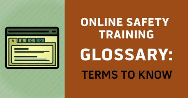Online Safety Training Glossary Image