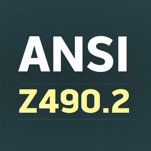 ANSI Z490.2 Online Safety Training Standard Image