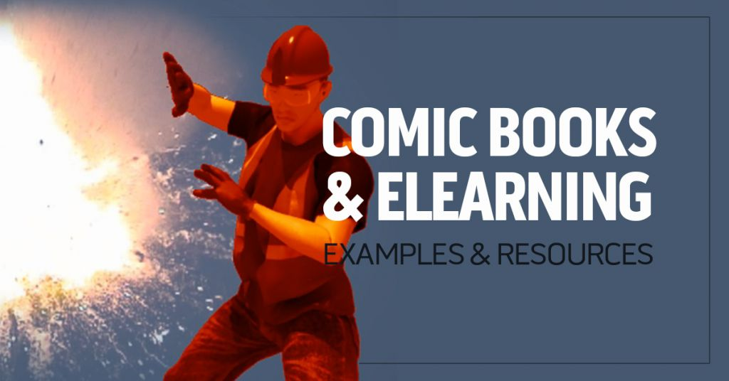 Comic Books and eLearning Image