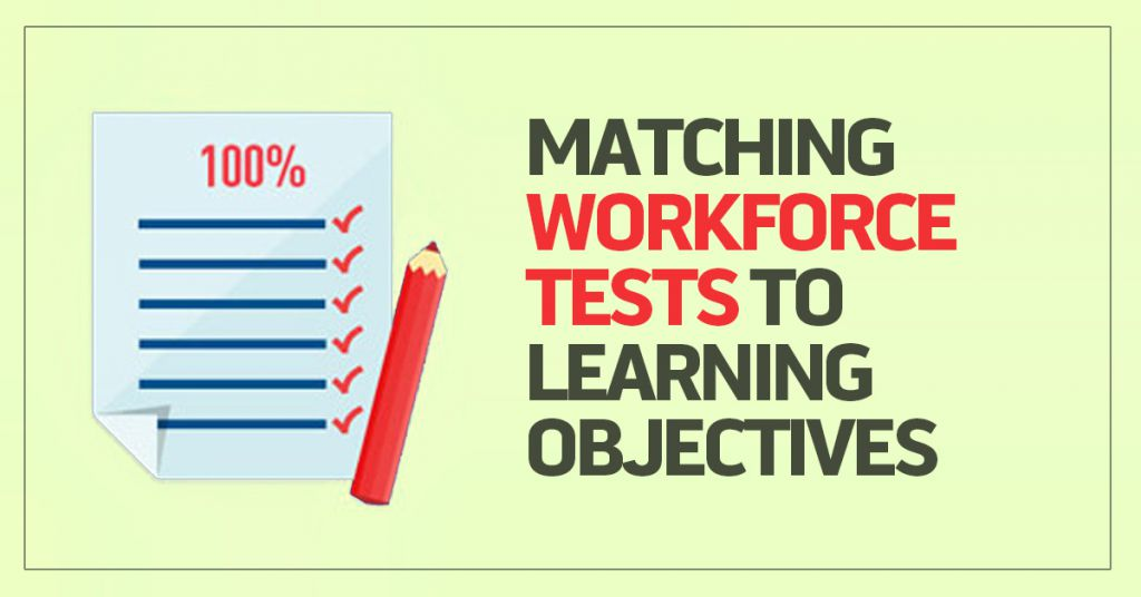 Workforce Tests, Learning Objectives & Fidelity Image
