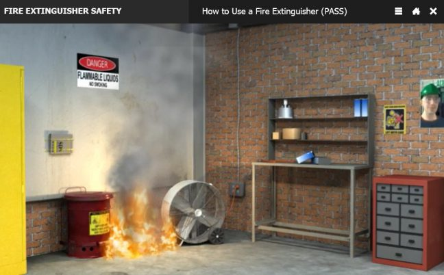 Make Sure Fire Isn't Too Big Before Extinguishing Image