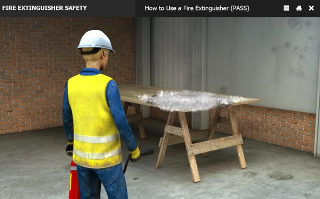 How to Use a Fire Extinguisher Watch Fire When Out Image