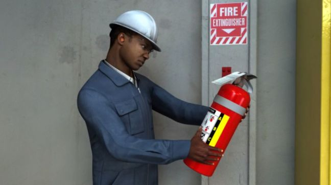 Fire Extinguisher Inspection Image