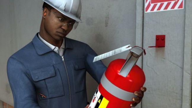 fire extinguisher inspection maintenance image