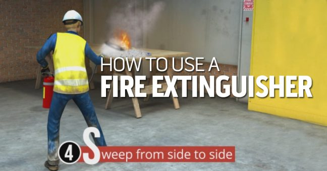 How to Use a Fire Extinguisher-A Step-by-Step Guide