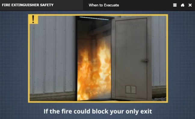 How to Use a Fire Extinguisher When to Evacuate Image