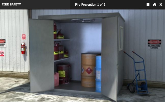 Fire Extinguisher Types Workplace Fire Hazard Inspection Image