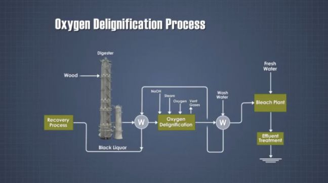 Paper Manufacturing Training Image about Oxygen Delignification of Paper