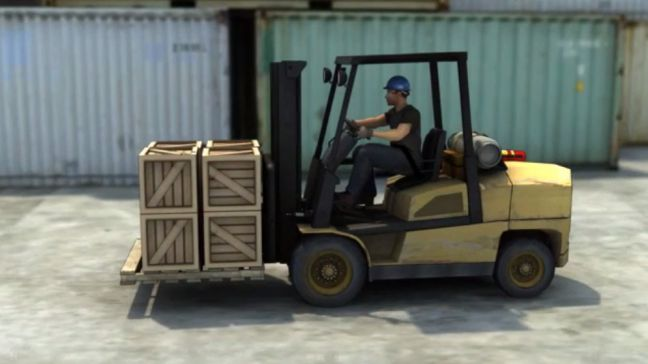 Safe Forklift Operation Image