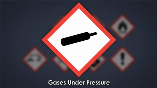 HazCom Pictogram Gas Under Pressure