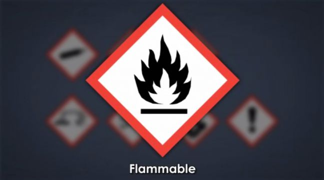 HazCom Pictogram Flammable