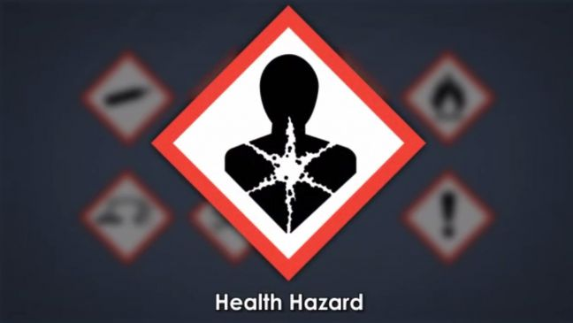 HazCom Pictogram Health Hazard