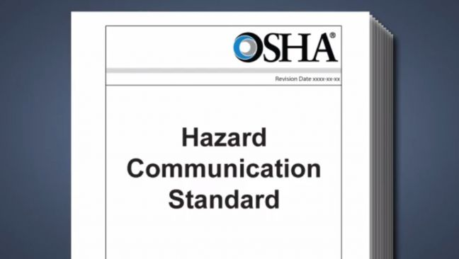 Hazard Communication Standard Image