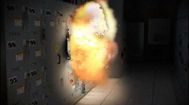 Electrical Arc Flash Image