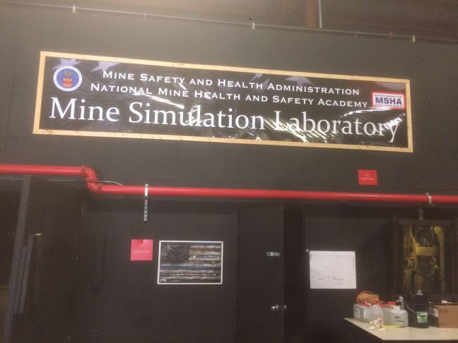 MSHA Mine Simulator Photo