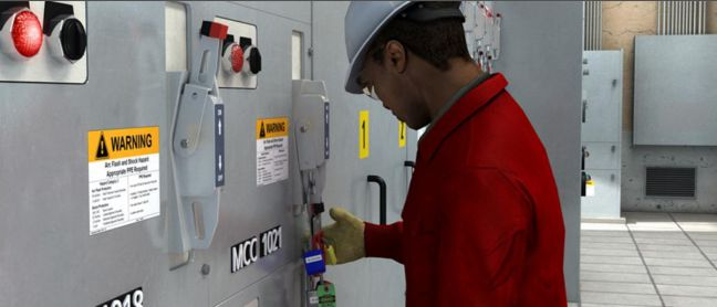 LOTO Safety-Lockout Tagout Image