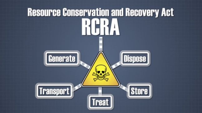 Resource Conservation Recovery Act (RCRA) Image