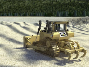 Image of Dozer at a Surface Mine