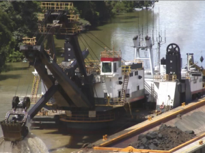 Image of a Dredge for surface mining