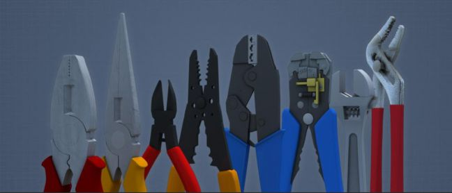 Hand Tools for Electrical Work Image