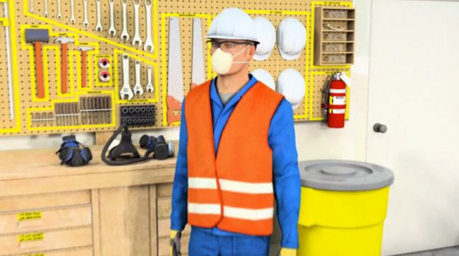 Voluntary Respirator Use Online Training Image