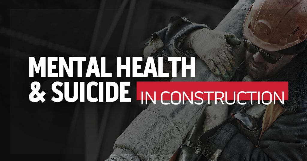 Mental Health, Suicide, and Construction Image