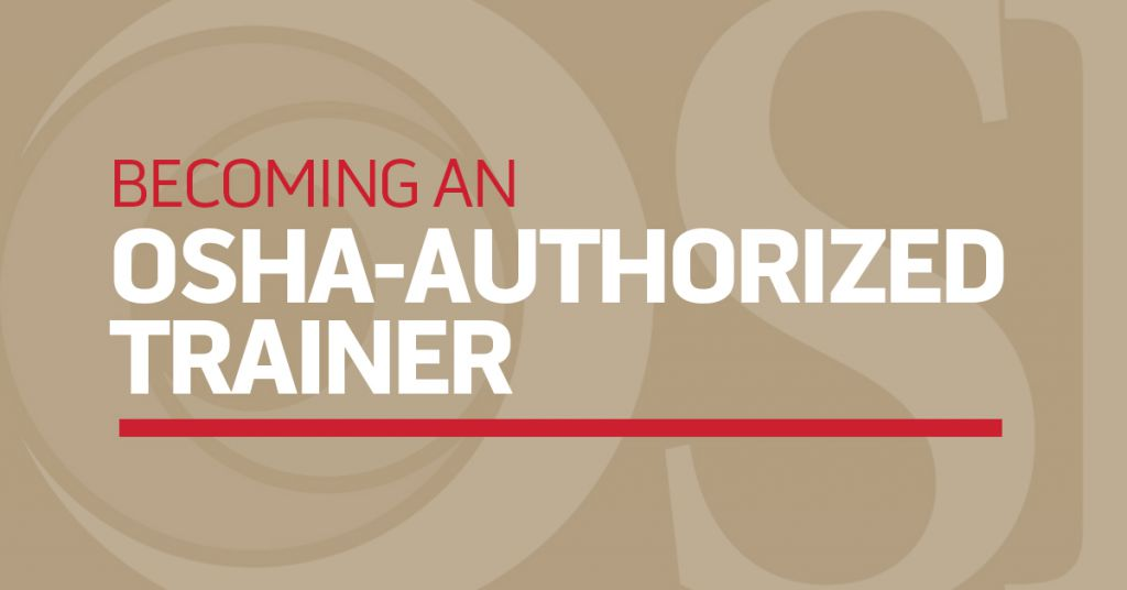 OSHA Authorized Trainer Image