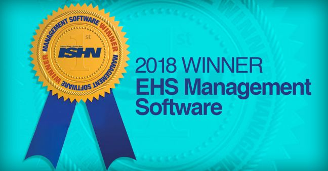 ISHN Reader Choice Winner Award EHS Management Software Convergence Training Image