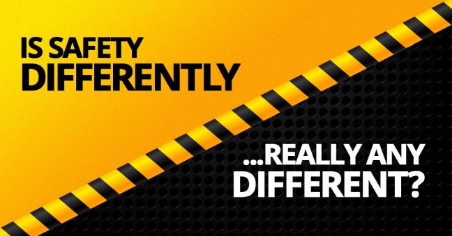 Safety Differently Image