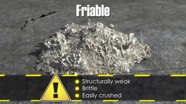 Friable Asbestos Image
