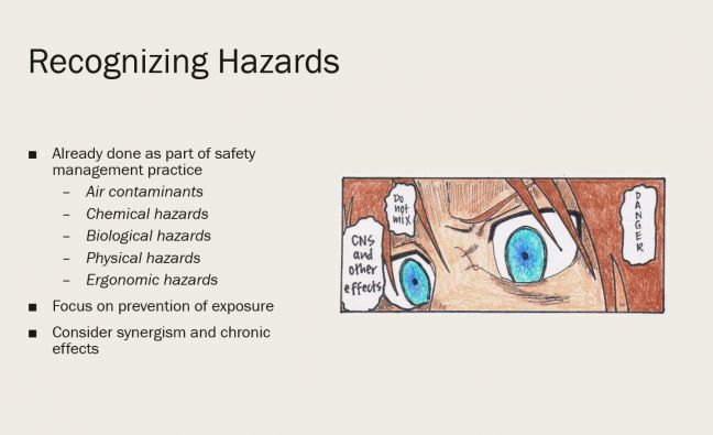 Recognizing Safety and Health Hazards Image
