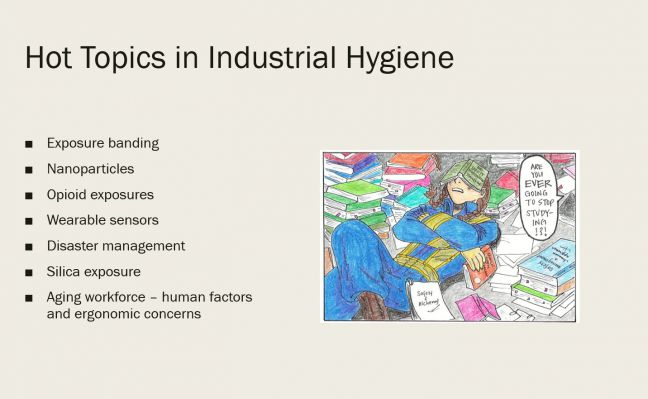 Hot Topics in Industrial Hygiene Image