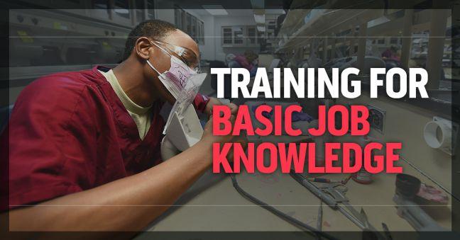Training for Basic Job Knowledge Image