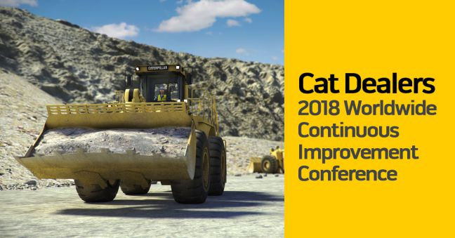 Cat Continuous Improvement Conference 2018