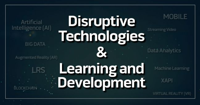 Disruptive Technologies and Learning & Development Image