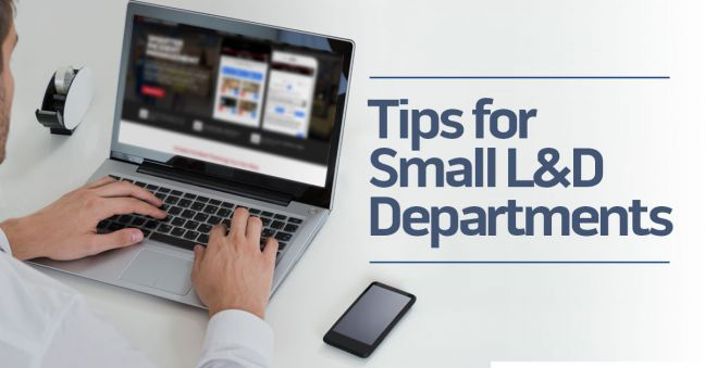 Tips for Small L&D Departments Image