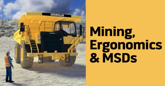 Mining Ergonomics Image