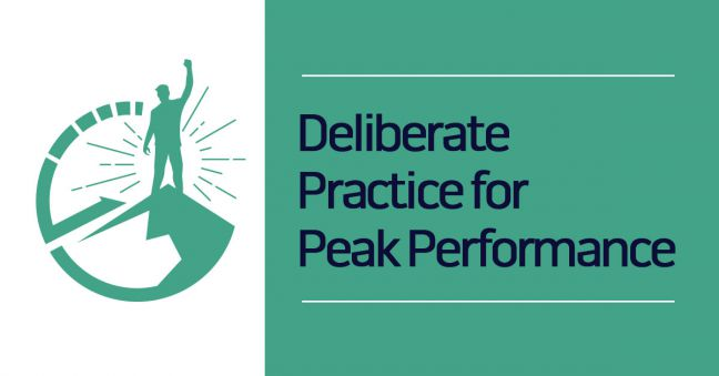 deliberate practice and peak performance image