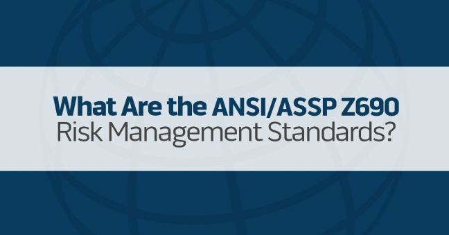 ASSP Z640 Risk Management Standards Image